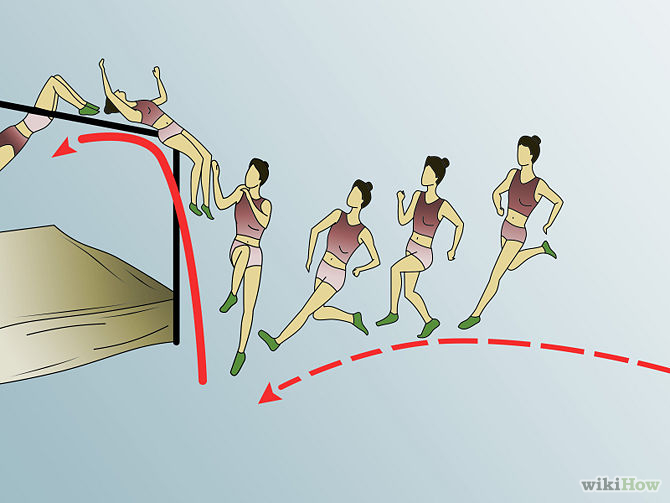 Track and Field Jumps - High Jump